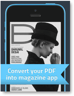 digital magazine mobile app by PressPad