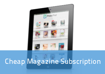 Cheap Magazine Subscription | PressPad
