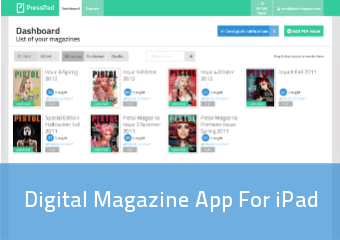 Digital Magazine App For Ipad | PressPad