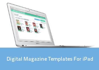 Digital Magazine Templates For Ipad | PressPad