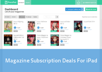 Magazine Subscription Deals For Ipad | PressPad