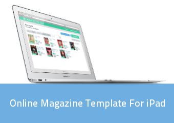 Online Magazine Template For Ipad | PressPad