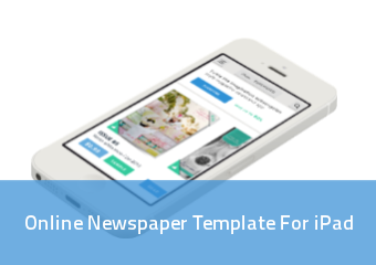 Online Newspaper Template For Ipad | PressPad