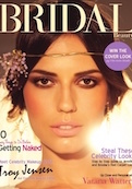 bridal beauty digital magazine cover
