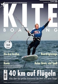 kite boarding digital magazine cover