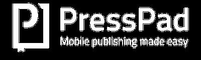 presspad logo white