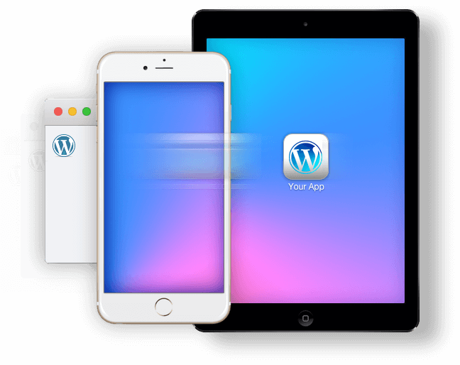 from WordPress to iPad and iPhone